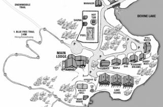 Trillium Resort Grounds Map