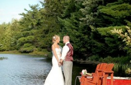 Trillium Resort and Spa; Muskoka Ontario - Outdoor Weddings